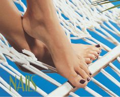What could be better than relaxing in a hammock on a summer day with a fresh pedicure? - $1