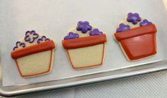 Potted Pansy Cookie Tutorial