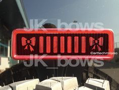 Jeep wrangler BOWs decals by arttechmilano on Etsy