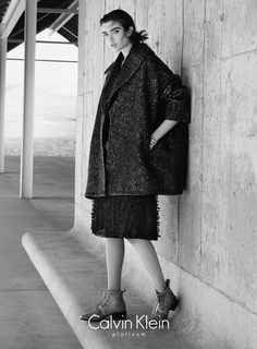 Calvin Klein Platinum Fall/Winter 2015 Campaign (Calvin Klein)