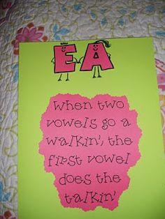 Fun saying to help kids remember!