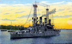World War I - Battleship USS South Carolina