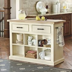"""This would look good in my """"new"""" kitchen.  Looking for some kind of buffet or movable work station to put against the wall...you know, for all the work Jason does in the kitchen :)"""