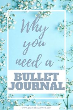What is a bullet journal? When I first heard the term bullet journal i asked myself what that is. As I researched about this topic I found something awesome, I really love now! | #bulletjournal #startingabulletjournal |