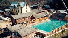 Circle Hot Springs Resort Alaska.  Closed down years ago.