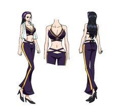 One Piece Series, One Piece Manga, Robin Outfit, Fan Drawing, 0ne Piece, One Piece Outfit, Chica Anime Manga, Nico Robin, Poses