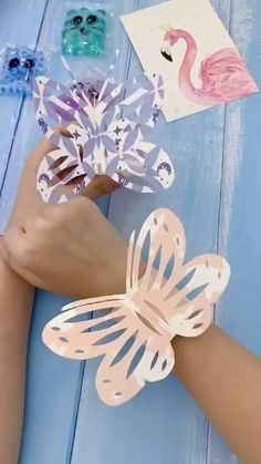 Paper Crafts Origami, Paper Crafts For Kids, Origami Art, Craft Activities For Kids, Preschool Crafts, Diy Crafts To Sell, Diy Paper, Fun Crafts, Paper Butterfly Crafts