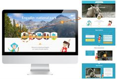 Online adventure destinations with educational contents and tasks