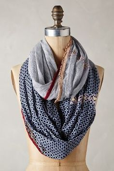 Anthropologie Novato Infinity Scarf #anthrofave