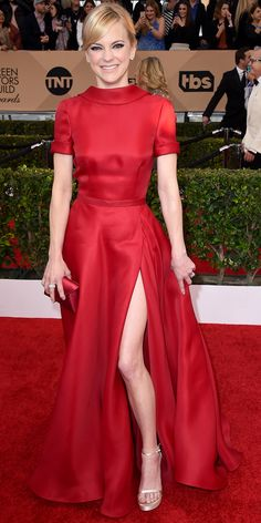 2016 SAG Awards Red Carpet Arrivals - Anna Faris  - from InStyle.com