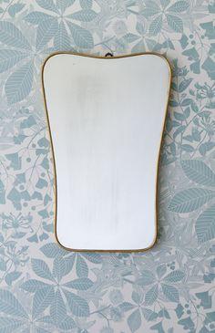 Italian brass mirror 1950's / theapartment.dk