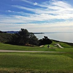 Summer days in #DelMar are perfect for a round at Torrey Pines Golf Course! #sandiego