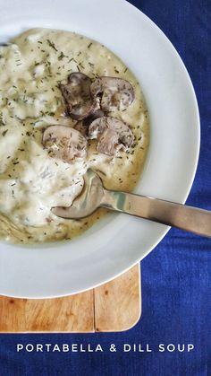 Portabella & Dill Soup