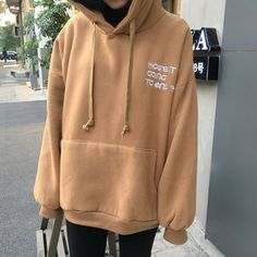 Buy Chililala Hooded Pullover | YesStyle