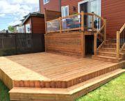 Réalisations Outdoor Stuff, Outdoor Decor, Backyard, House Design, Decking, Granada, Design Ideas, Home Decor, Gardens