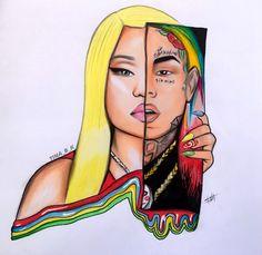 69 & Nicki  FEFE  please free repost & tag her. @6ix9ine @nickiminaj | #nickiminaj #6ix9ine #69 #nickiminajdrawing #fefe #celebrity #rapper #xxxtentaction #asaprocky #drake #arianagrande #dualipa #rihanna #minaj #maraj #drawing #art #artist #video #like #repost