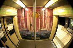 Versaille commuter train in Paris: Furbelows for Foundlings