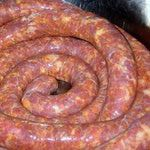 How to Make Hungarian Sausage - Hazi Kolbasz: Holy Trinity Church in East Chicago, Ind., Makes Hungarian Sausage Hungarian Sausage Recipe, Hungarian Recipes, Homemade Sausage Recipes, Meat Recipes, Recipies, How To Make Sausage, Sausage Making, Charcuterie, Chorizo