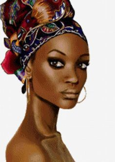 девушка - Схемы вышивки - Коалла - Авторы - Портал «Вышивка крестом»