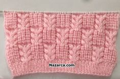 This mesh stitch knitting pattern is both lacy and beautiful! There are unlimited knitting projects that you can make with this mesh stitch. Bandeau Crochet, Crochet Cord, Easy Crochet, Crochet Baby, Crochet Beanie, Crochet Granny, Headband Crochet, Knitted Baby, Blanket Crochet