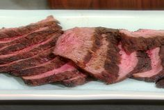 Dry Rubbed Flank Steak Recipe : Food Network - FoodNetwork.com