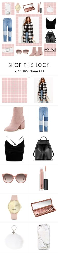 """""""Untitled #285"""" by fashion-and-dance ❤ liked on Polyvore featuring Hello Kitty, Sam Edelman, Steve J & Yoni P, Boohoo, Le Parmentier, Gucci, MAC Cosmetics, Nine West, Urban Decay and russell+hazel"""