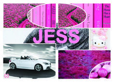 Jess Pink Jessica DeLuca Moodboard