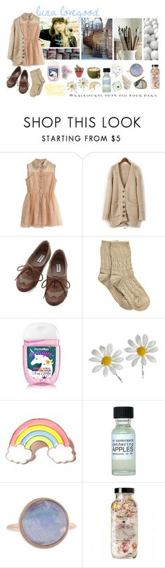 """""Wrackspurts, they fill your head-"" Luna Lovegood. Round One, BOTC, Luna Lovegood"" by galaxies-of-diamonds ❤ liked on Polyvore featuring Styleberry, Boohoo, Luna, Miss Selfridge, Local Heroes, Fuji, Kelly Wearstler, Marc Jacobs, harrypotter and lunalovegood"