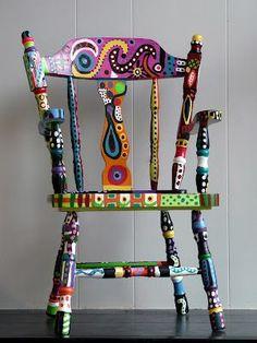 Doodle art Chair