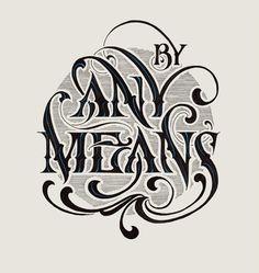 Hand lettering by Andreas Grey Gothic Lettering, Chicano Lettering, Graffiti Lettering, Tattoo Writing Fonts, Tattoo Lettering Fonts, Script Tattoos, Typography Sketch, Typography Letters, Graffiti Text