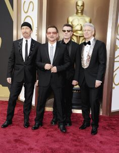 Oscar 2014: Stars on the Red Carpet Pictures - U2 | Rolling Stone