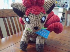 cute pokemon amigurumi vulpix