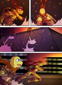 Teenage Mutant Mages Turtles Page 16 by GolzyBlazey on DeviantArt