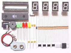#Microcontroller Based #DigitalClock #Electricals #Electronics