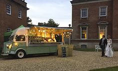 Wood Fired Pizza Wedding Holdenby house