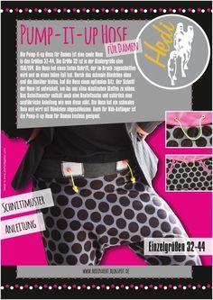 E-BOOK Pump-It-Up Pantalones para Mujeres / Adolescentes Gr.32-44