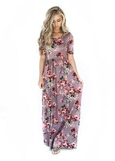 Lilac Dream Maxi Dress, Ivory Love Rose Midi Dress, jessakae, floral dress, shop jessakae, fashion, style, womens fashion, floral, dress, blonde, hair, makeup, floral maxi dress