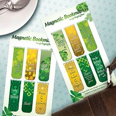 With a little help from these lucky bookmarks, you'll never lose your page!