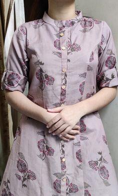 New Kurti Designs, Simple Kurti Designs, Fancy Blouse Designs, Sleeves Designs For Dresses, Sleeve Designs, Neck Lines, Top Pattern, Princess Cut, Kurtis