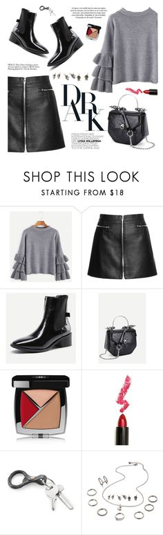 """Sin título #1251"" by yexyka ❤ liked on Polyvore featuring Wild Rose, Chanel and Lime Crime"