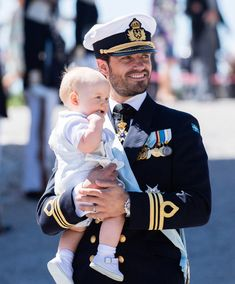 Prince Carl Phillip of Sweden and Prince Gabriel of Sweden attend the christening of Princess Adrienne of Sweden at Drottningholm Palace Chapel on June 2018 in Stockholm, Sweden. Get premium, high resolution news photos at Getty Images Princess Sofia Of Sweden, Princess Victoria Of Sweden, Crown Princess Victoria, Celebrity Kids, Celebrity Photos, Gabriel, Prinz Carl Philip, Christening Photos, Swedish Royalty