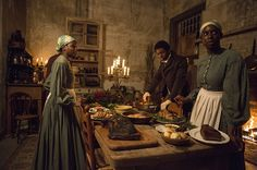 ROOTS - Essential to the storytelling were the sets conveying the life, circumstances and historical details from 1767 through 1865, with a glimpse of author Alex Haley in 1976 writing the story of his ancestral roots. Production Designer Ida Random tells SET DECOR about her collaboration with Set Decorator Alice Baker SDSA [12 YEARS A SLAVE] in the making of this updated version of an African-American's epic journey to his ROOTS…
