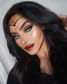 WONDER WOMAN- #MUA #Makeup Vibez @rahmanbeauty| Be Inspirational ❥|Mz. Manerz: Being well dressed is a beautiful form of confidence, happiness & politeness