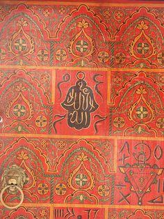 Hand of Fatima Painted Door, via Flickr.