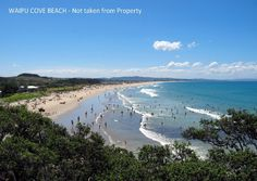 Waipu Cove, an hour and a half north from Auckland's CBD. North Island, New Zealand. Bay Of Islands, Auckland, East Coast, New Zealand, Property For Sale, Places Ive Been, Beaches, Surfing, Waves