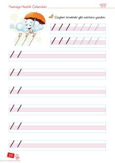1. Sınıf Konu Anlatım ÇİZGİ ÇALIŞMALARI Alphabet For Kids, Handwriting Practice, Preschool Worksheets, Pre School, Toddler Activities, Coloring Books, Kindergarten, Classroom, Teaching