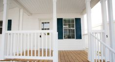 Love this rocking chair front porch