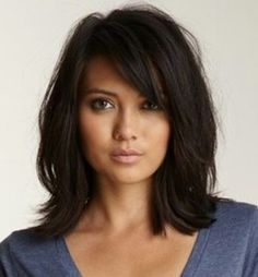 Loving her haircut.