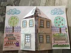 Eid Crafts, Crafts For Kids, Cute House, Teaching Kids, Pop Up, Gallery Wall, Classroom, Play, Frame