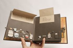 Bread: An Instructional Pop-Up Book ... Tjis would be cool to do for shareing a…